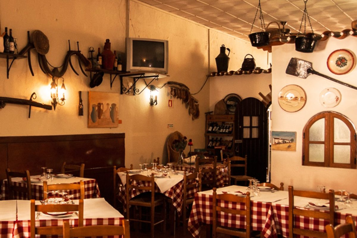 3. Almoco no Restaurante O Casao