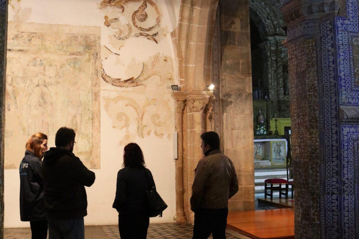 8. Rota do Fresco na Igreja Matriz de Alvito